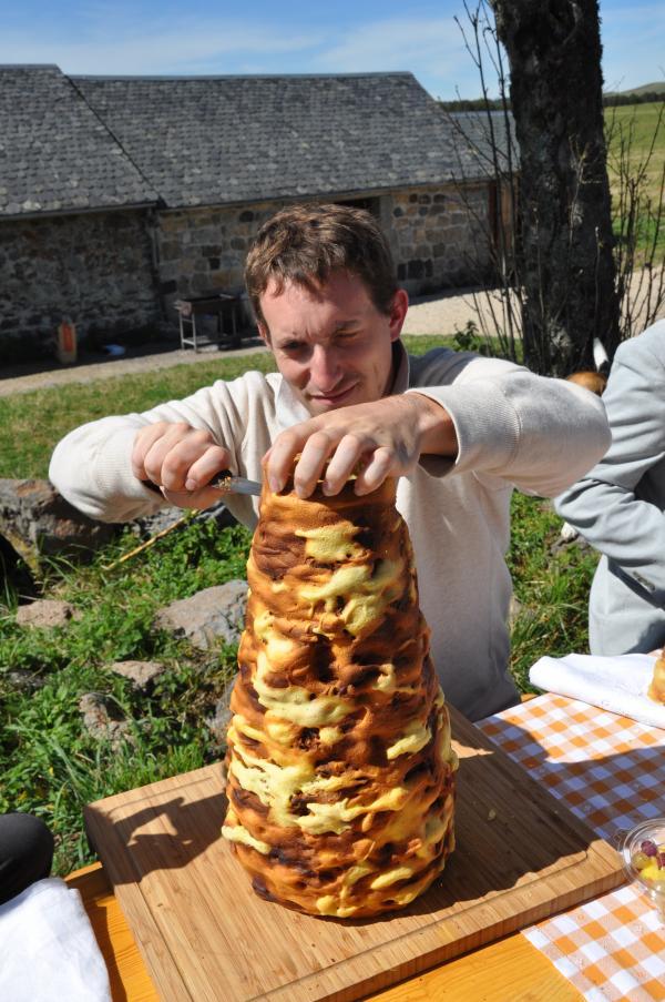 Repas au buron de Camejane
