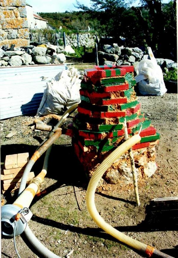 Tatara à la Vialasse chez Y. Pellequer en juin 1999