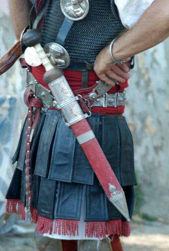Modèle d'une épée romaine