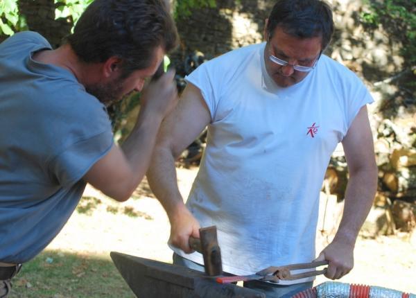 Forge : Alain et Jean-Marie