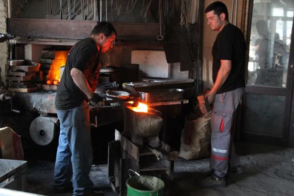 Inauguration de la forge de Carcenac par le K12