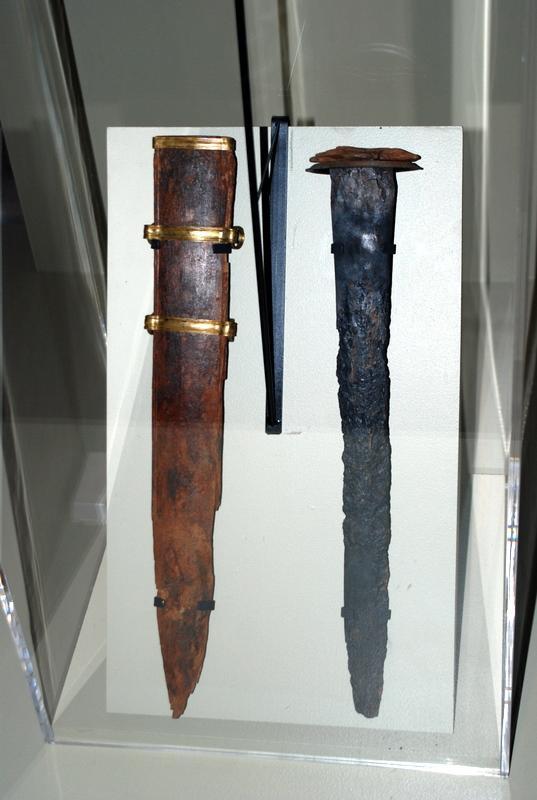 L'épée romaine du Musée d'Arles