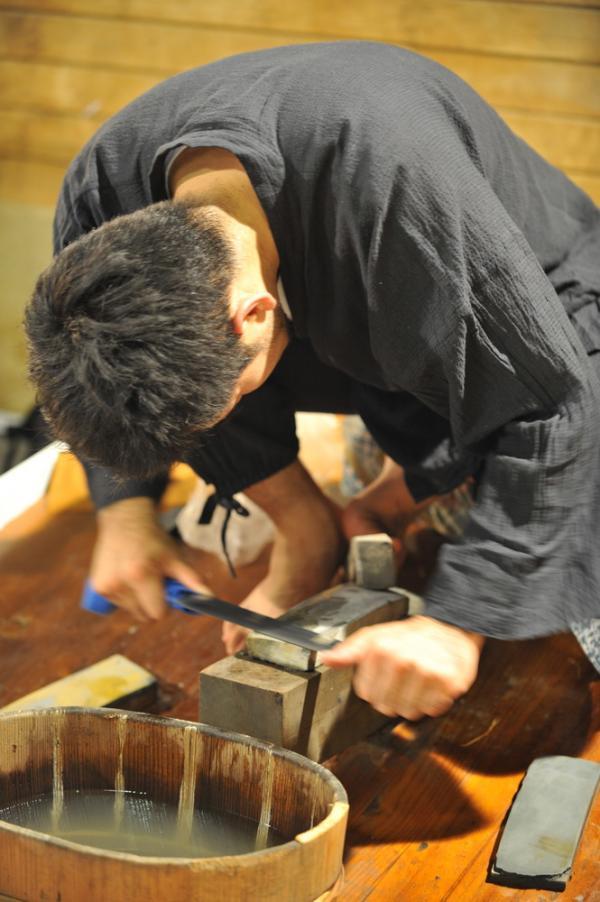 Polissage par Sotaro Matsumura