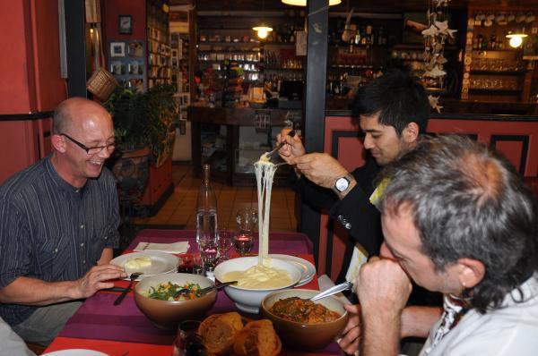 Repas offert par Philippe Girbelle boulanger de Bozouls