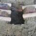 Bas-fourneau à Montrozier en 2007