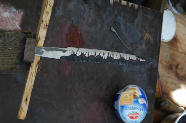 Trempe tanto en tamahagane 2012